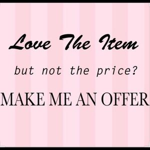Other - Love the item but not the price, make an offer! 💕